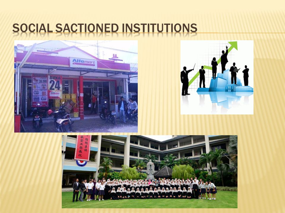 Social Sactioned Institutions