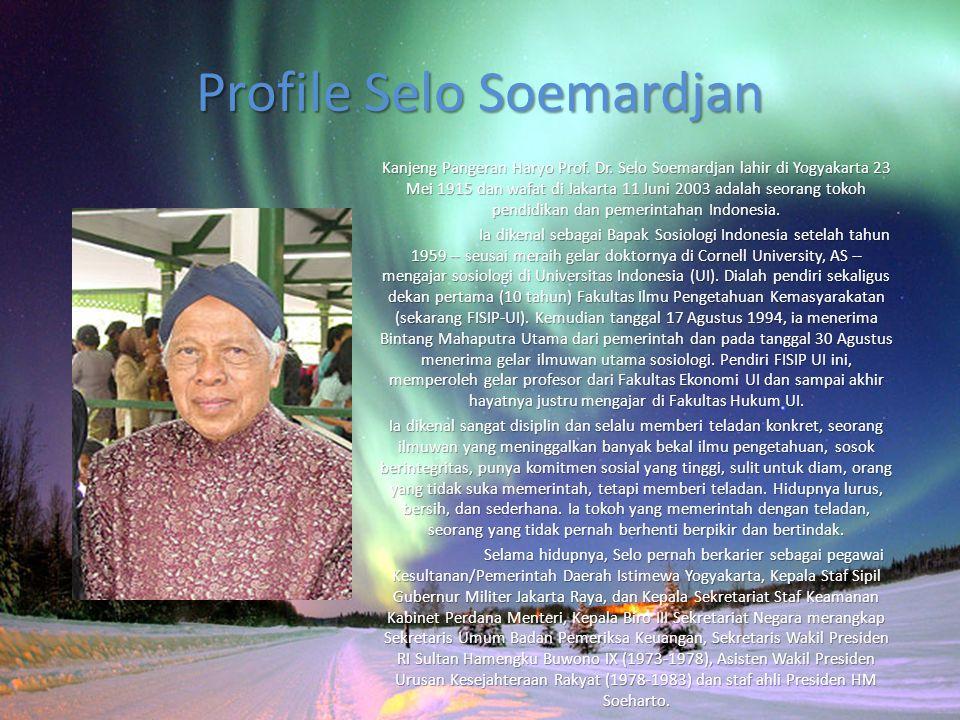 Profile Selo Soemardjan