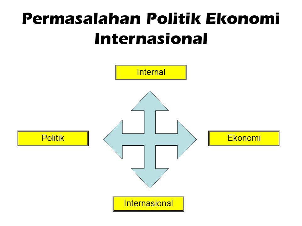 Permasalahan Politik Ekonomi Internasional