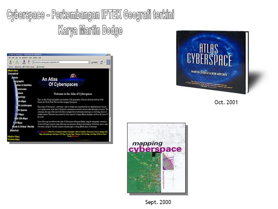 Cyberspace – Perkembangan IPTEK Geografi terkini