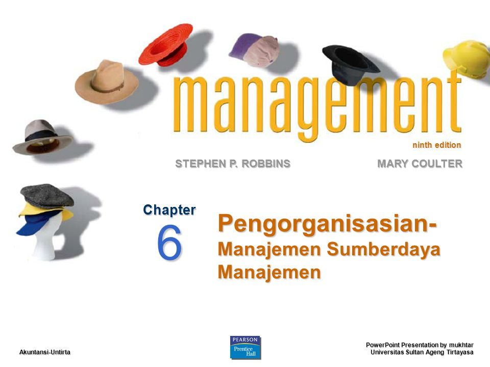 Pengorganisasian-Manajemen Sumberdaya Manajemen