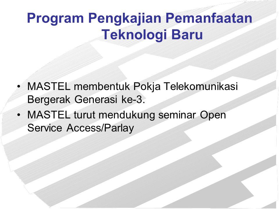 Program Pengkajian Pemanfaatan Teknologi Baru