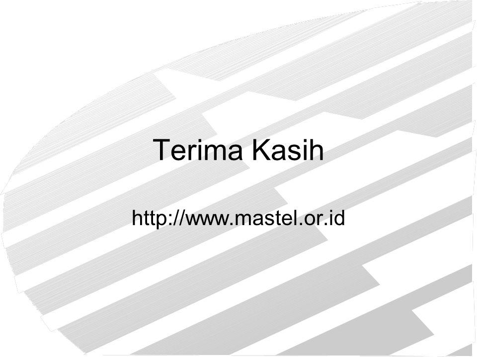Terima Kasih http://www.mastel.or.id