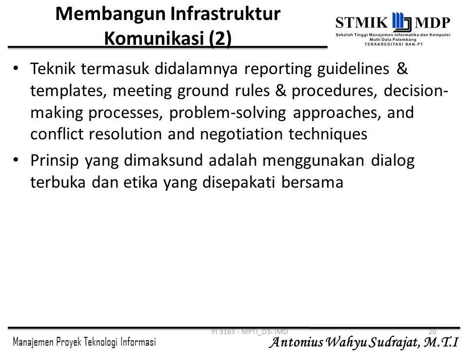 Membangun Infrastruktur Komunikasi (2)