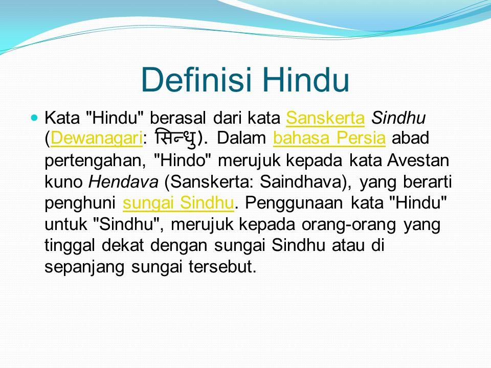 Definisi Hindu