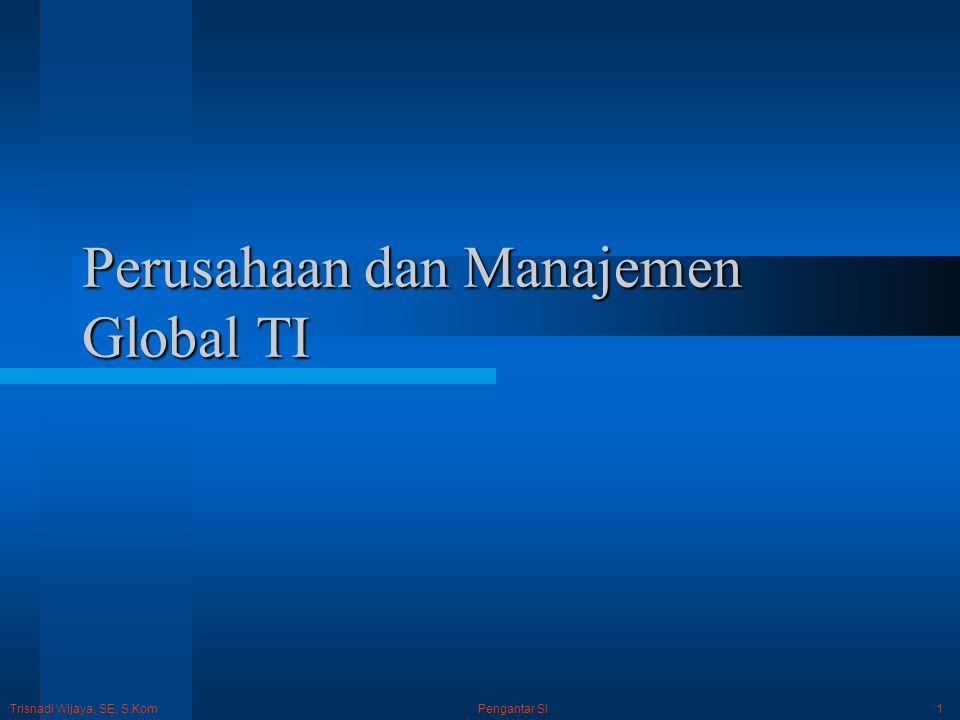 Perusahaan dan Manajemen Global TI
