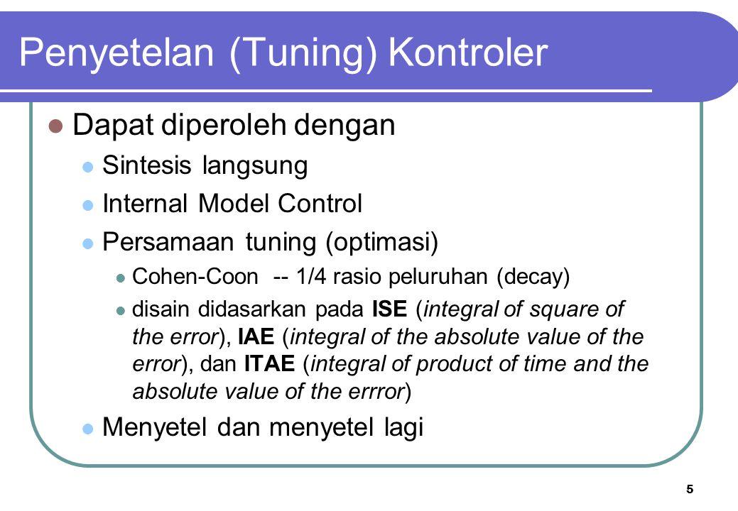 Penyetelan (Tuning) Kontroler