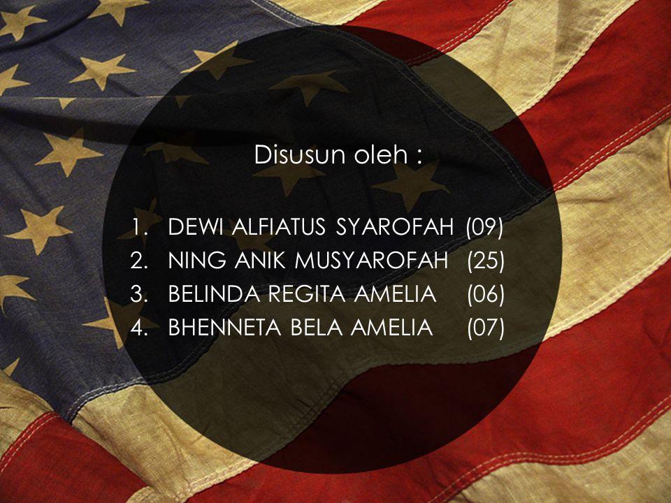 Disusun oleh : DEWI ALFIATUS SYAROFAH (09) NING ANIK MUSYAROFAH (25)