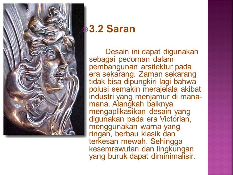 3.2 Saran