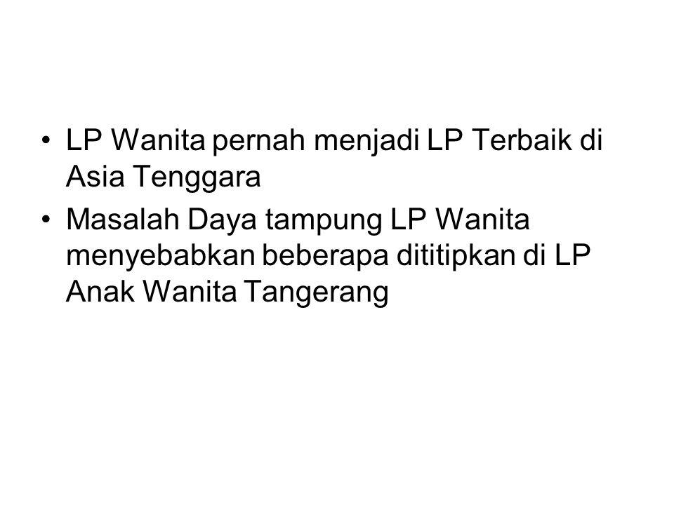 LP Wanita pernah menjadi LP Terbaik di Asia Tenggara