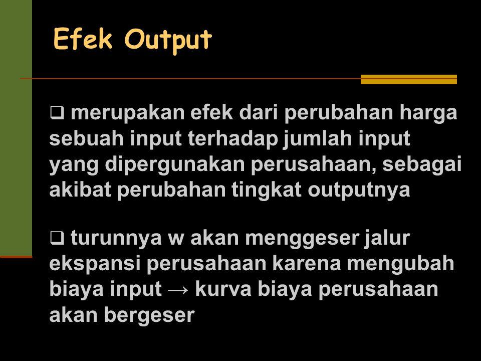 Efek Output