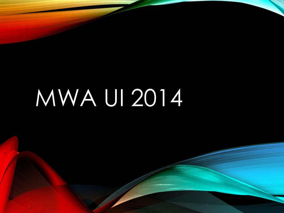 MWA UI 2014
