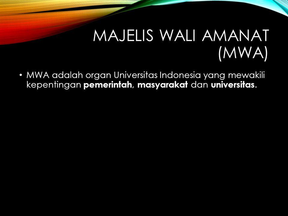 Majelis Wali Amanat (MWA)