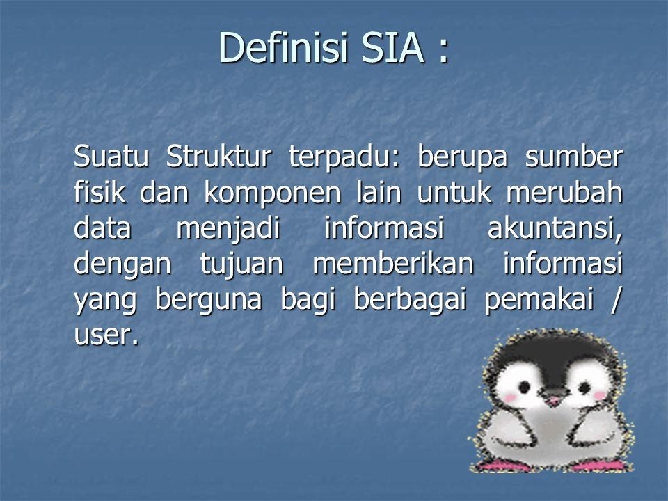 Definisi SIA :