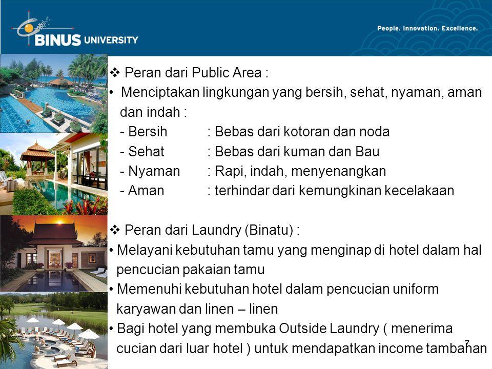 Peran dari Public Area :
