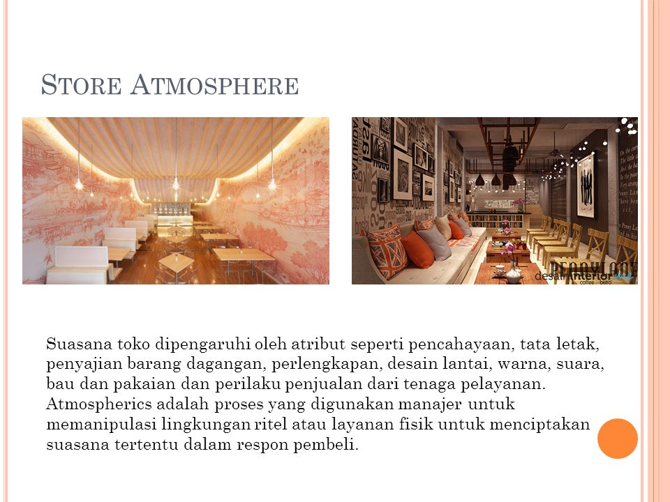 Store Atmosphere