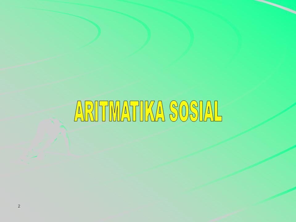 ARITMATIKA SOSIAL 2