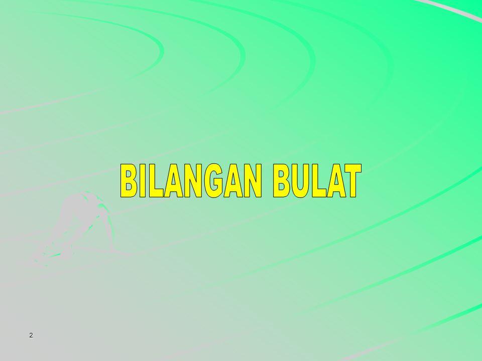 BILANGAN BULAT 2