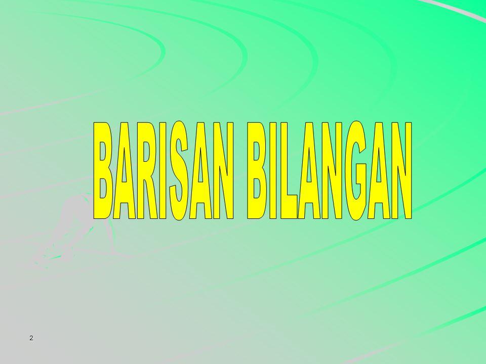 BARISAN BILANGAN 2