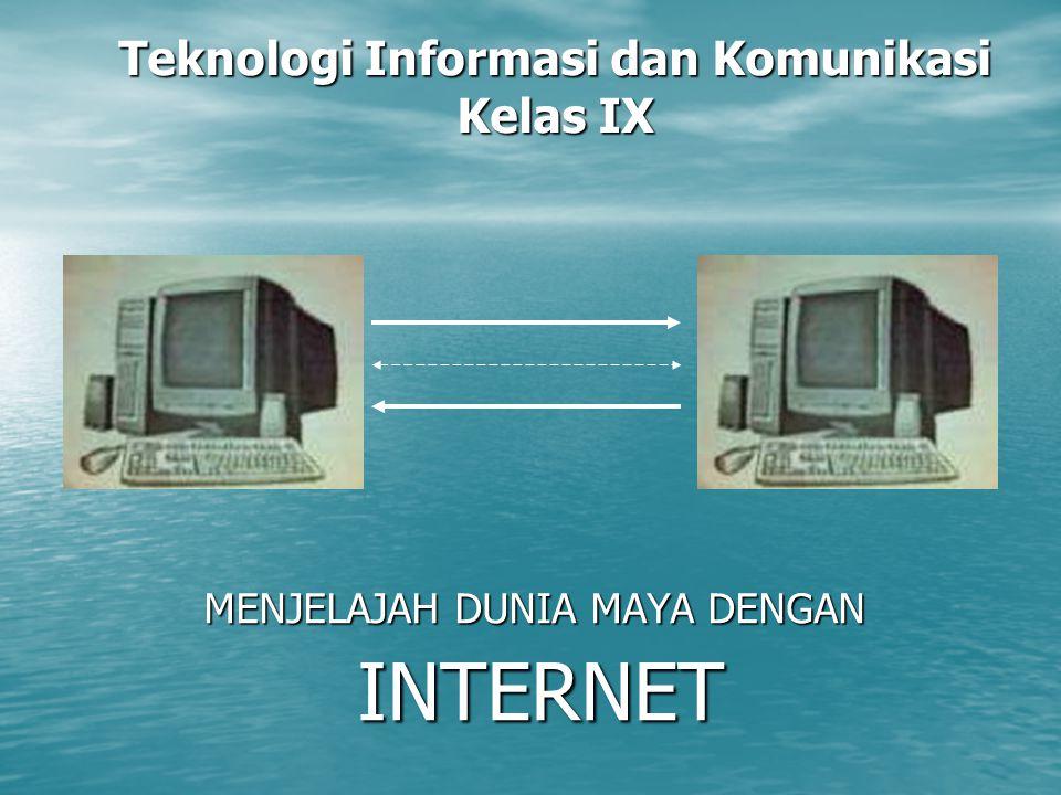 Teknologi Informasi dan Komunikasi Kelas IX