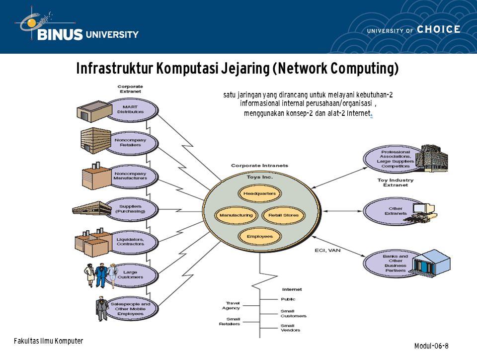 Infrastruktur Komputasi Jejaring (Network Computing)