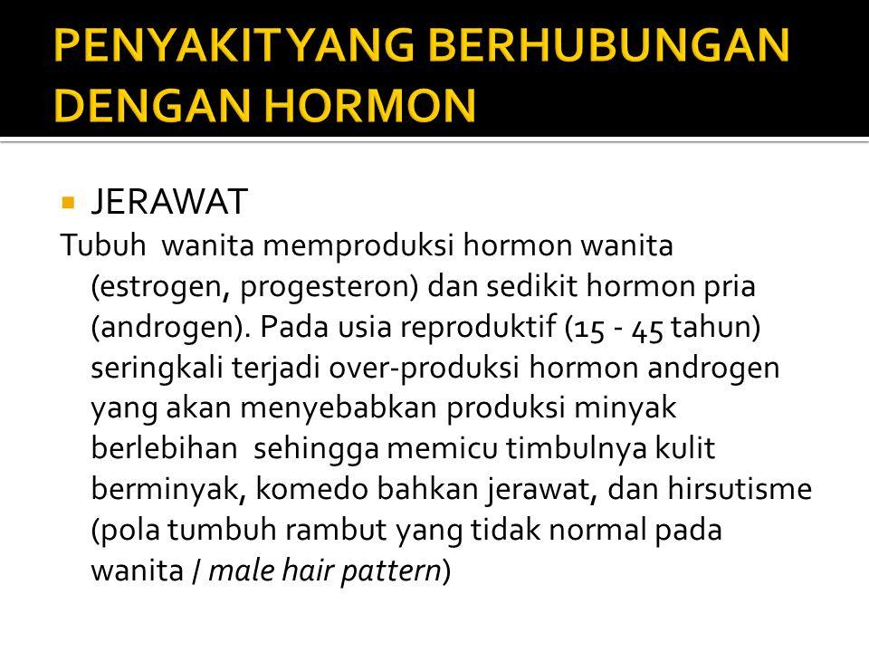 PENYAKIT YANG BERHUBUNGAN DENGAN HORMON