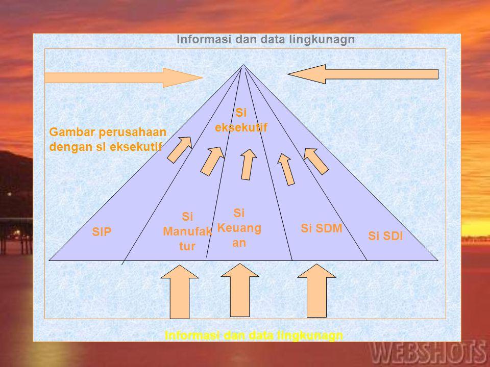 Informasi dan data lingkunagn