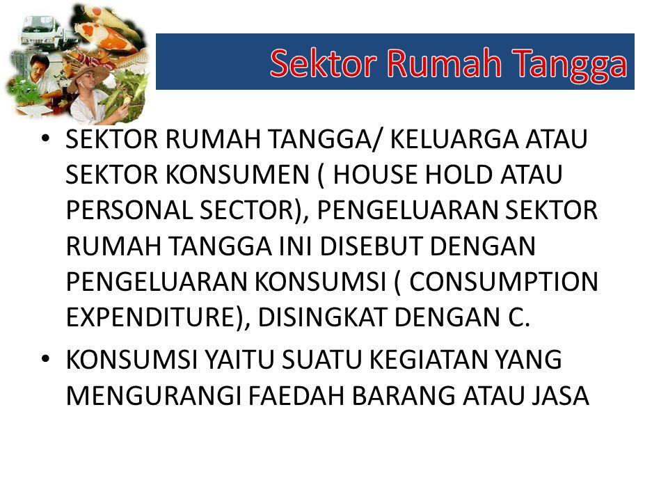 Sektor Rumah Tangga