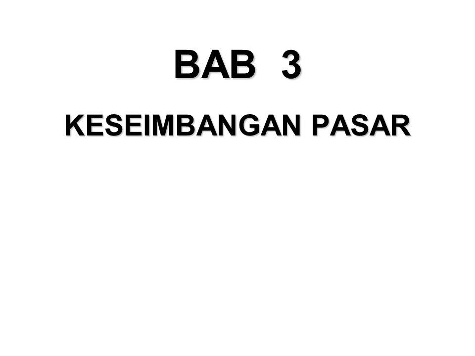 BAB 3 KESEIMBANGAN PASAR 49 36 49 50 49 49 49 49