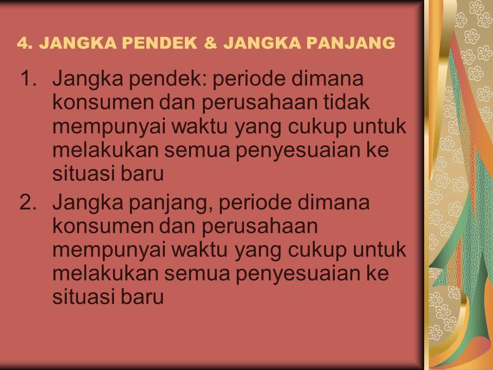 4. JANGKA PENDEK & JANGKA PANJANG