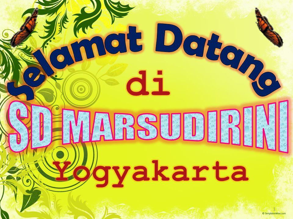 Selamat Datang di SD MARSUDIRINI Yogyakarta