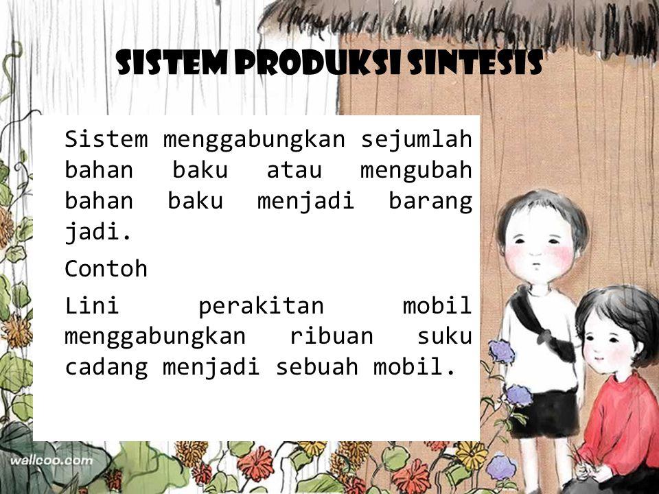 Sistem Produksi Sintesis