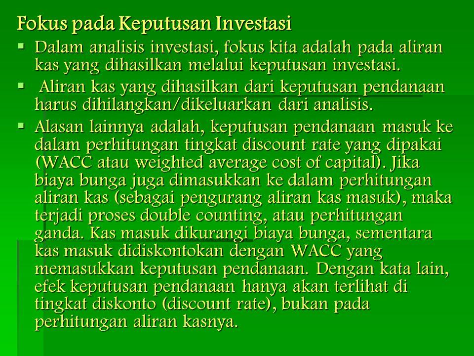 Fokus pada Keputusan Investasi