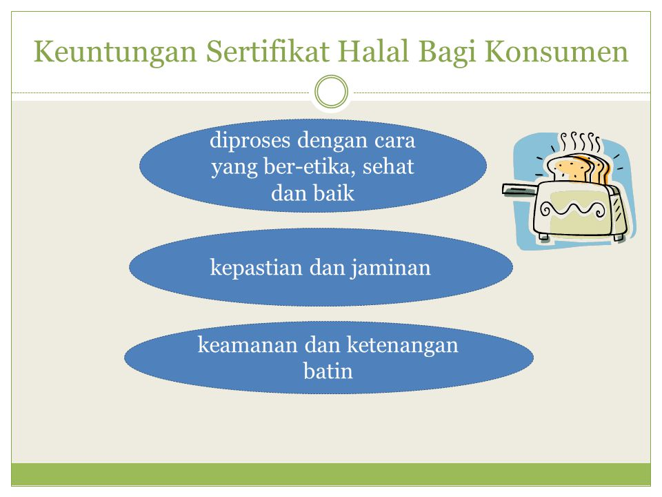 Keuntungan Sertifikat Halal Bagi Konsumen
