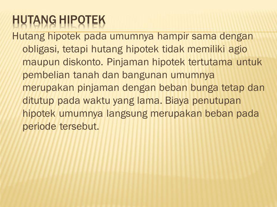 HUTANG HIPOTEK
