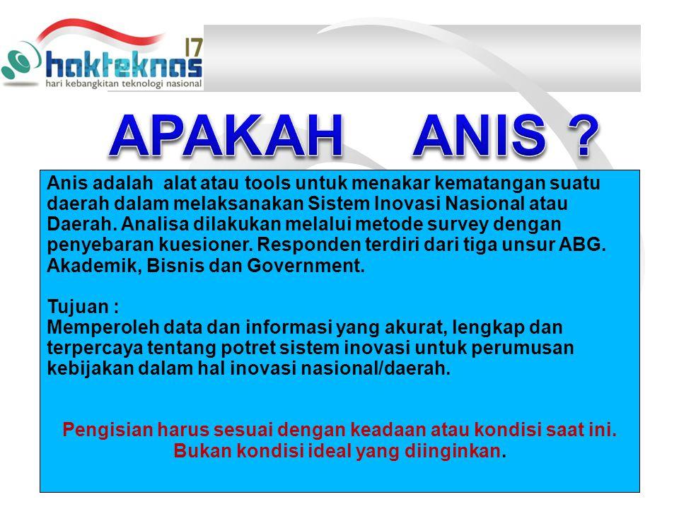 APAKAH ANIS