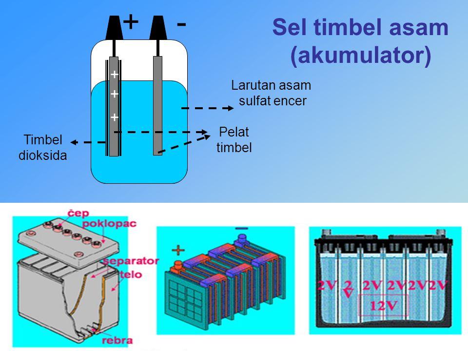 Sel timbel asam (akumulator)