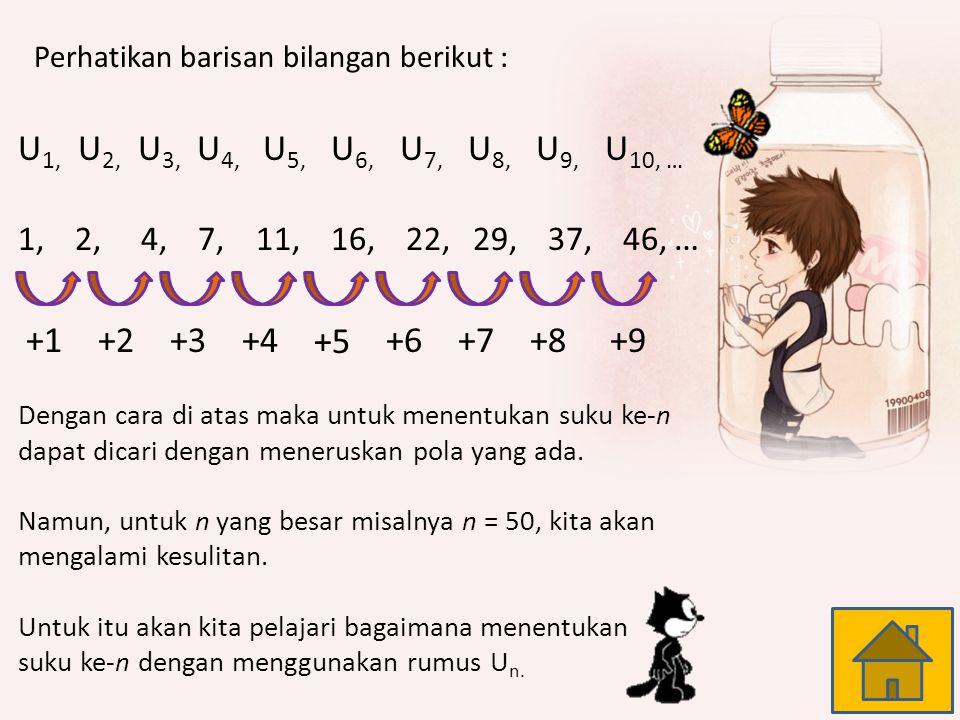 U1, U2, U3, U4, U5, U6, U7, U8, U9, U10, … +1 +2 +3 +4 +5 +6 +7 +8 +9