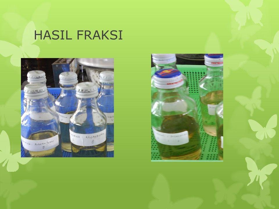 HASIL FRAKSI