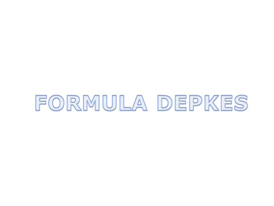 FORMULA DEPKES