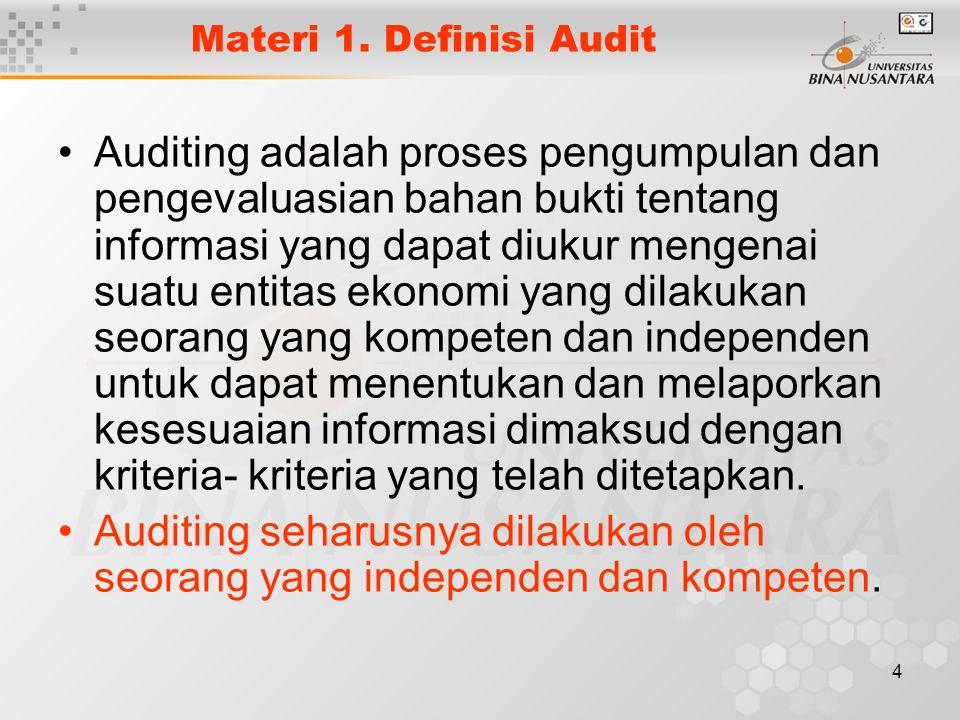 Materi 1. Definisi Audit