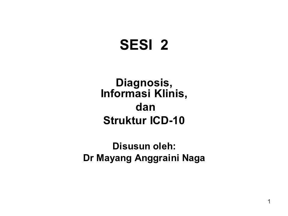 Diagnosis, Informasi Klinis, Dr Mayang Anggraini Naga