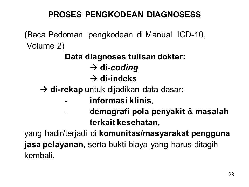 PROSES PENGKODEAN DIAGNOSESS