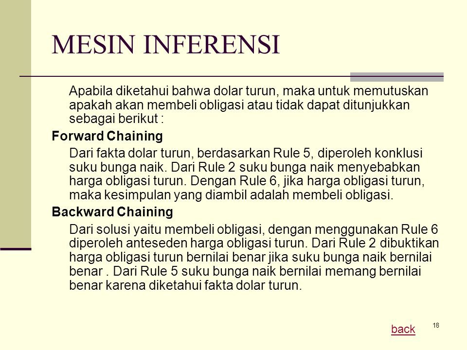 MESIN INFERENSI