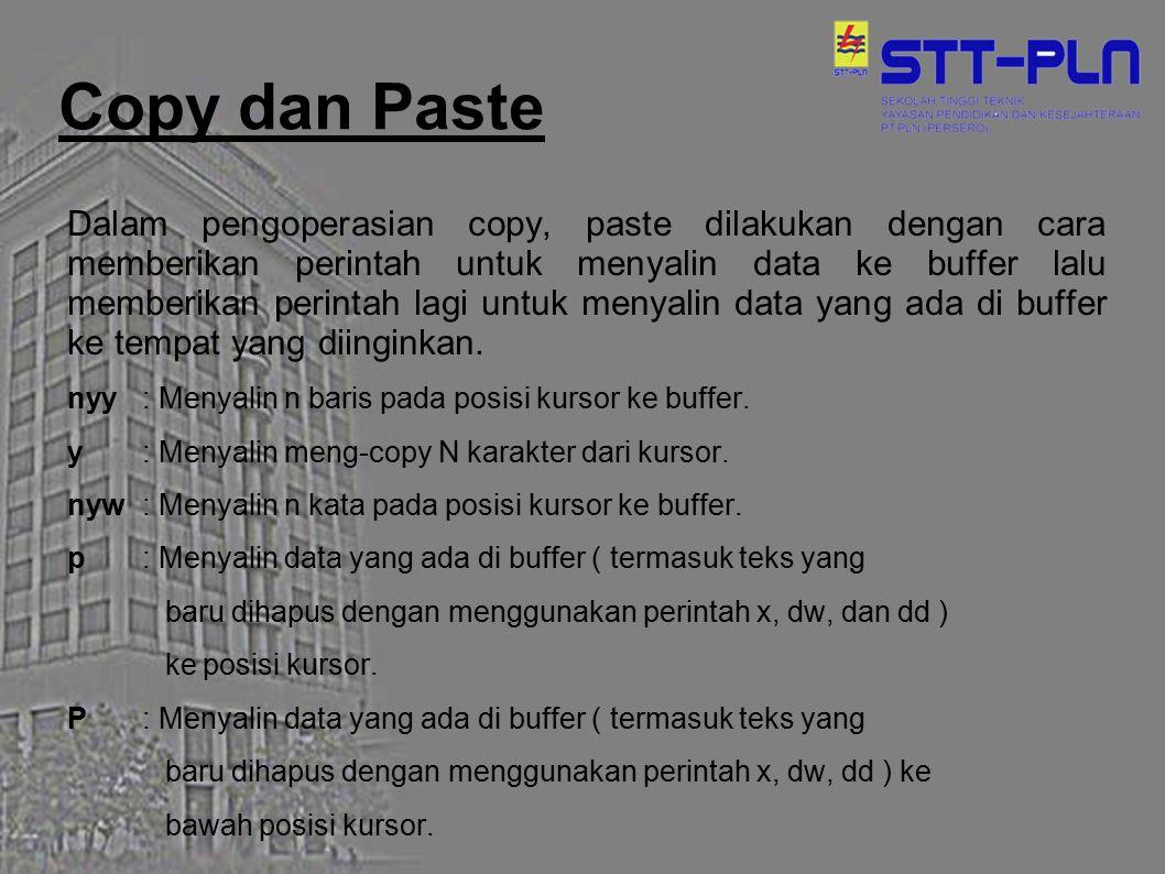 Copy dan Paste
