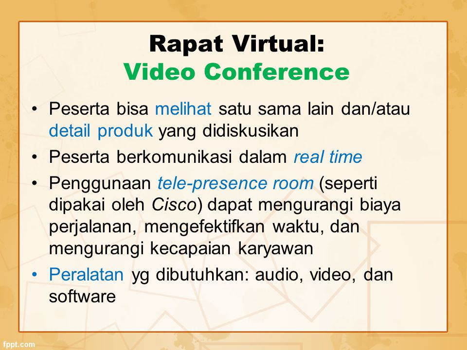 Rapat Virtual: Video Conference