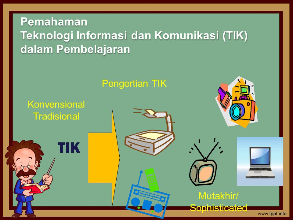 Pemahaman Teknologi Informasi dan Komunikasi (TIK) dalam Pembelajaran