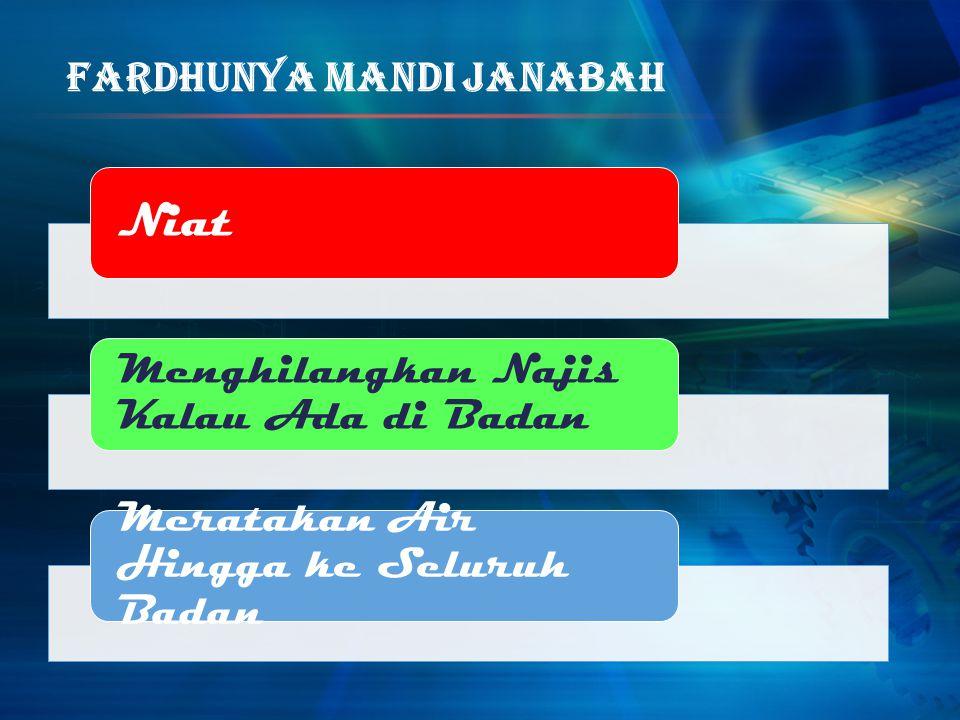 FardhuNya Mandi Janabah