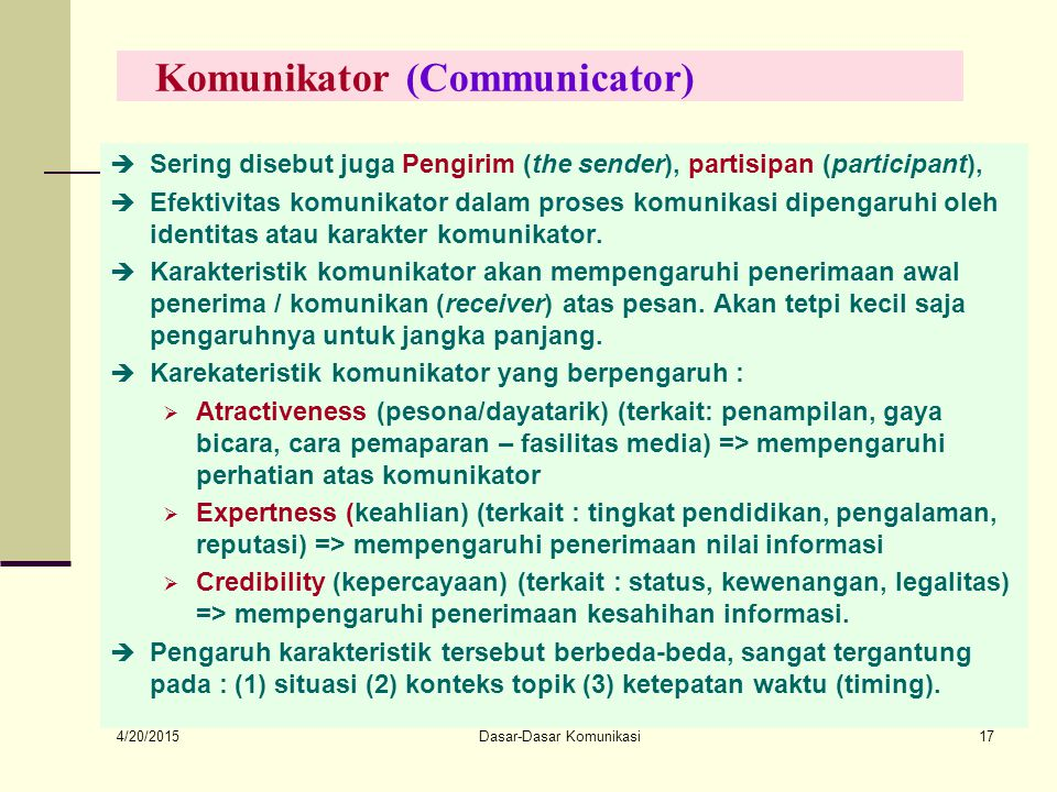 Komunikator (Communicator)