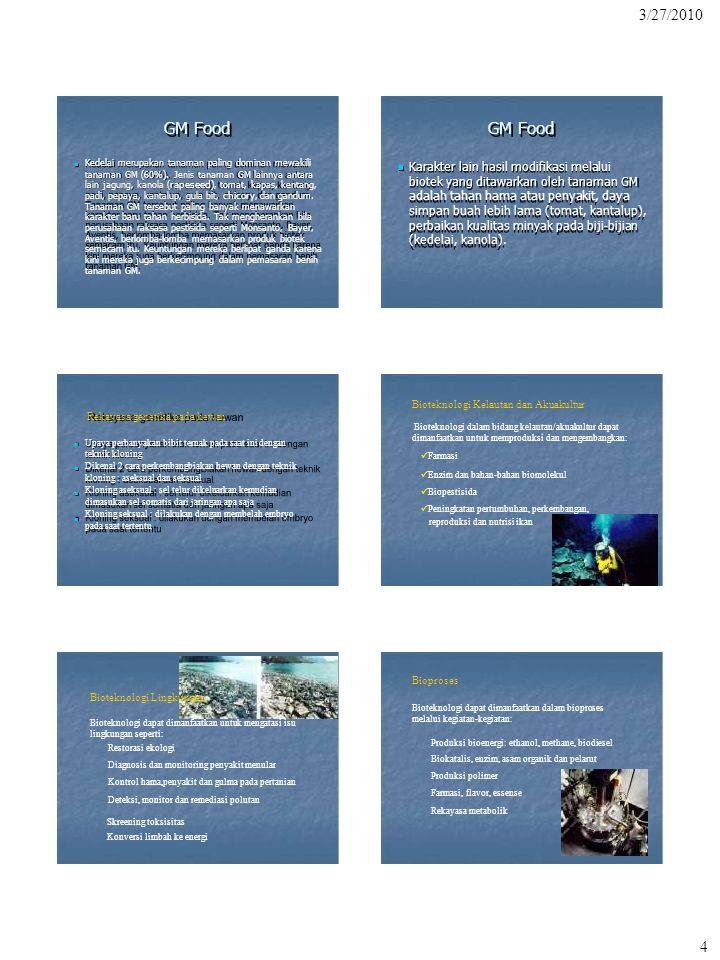 Bioteknologi Kelautan dan Akuakultur